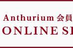 アンスリウムのオンラインショップ開設しました!
